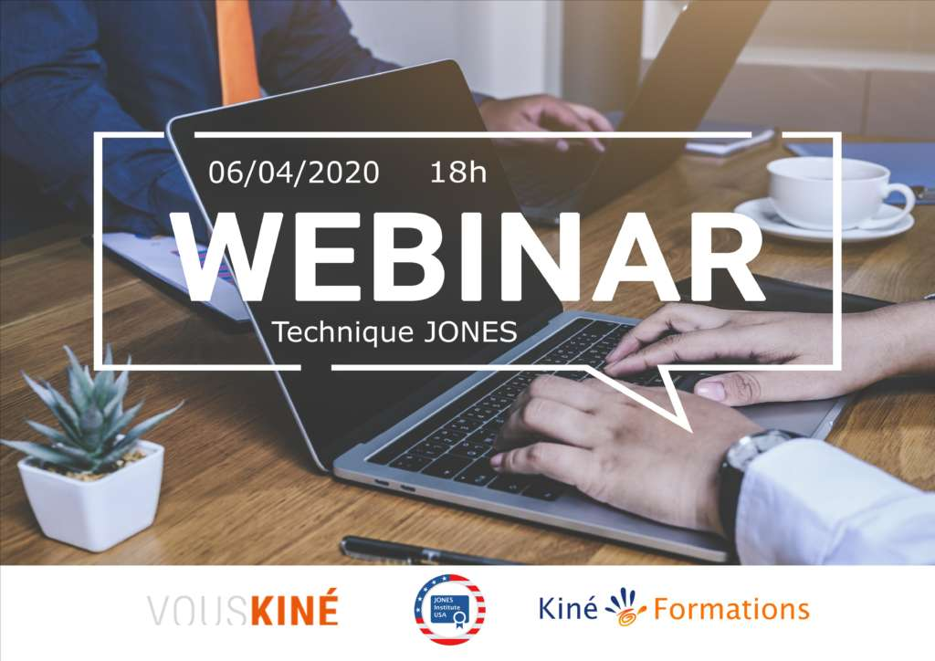 Webinar technique Jones
