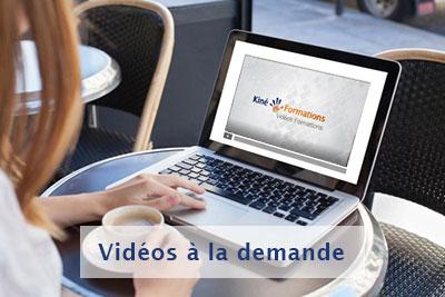 Vidéos à la demande - Kiné Formations