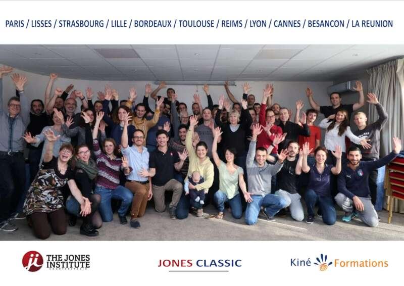 formation Jones classic en France avec Kiné-formations
